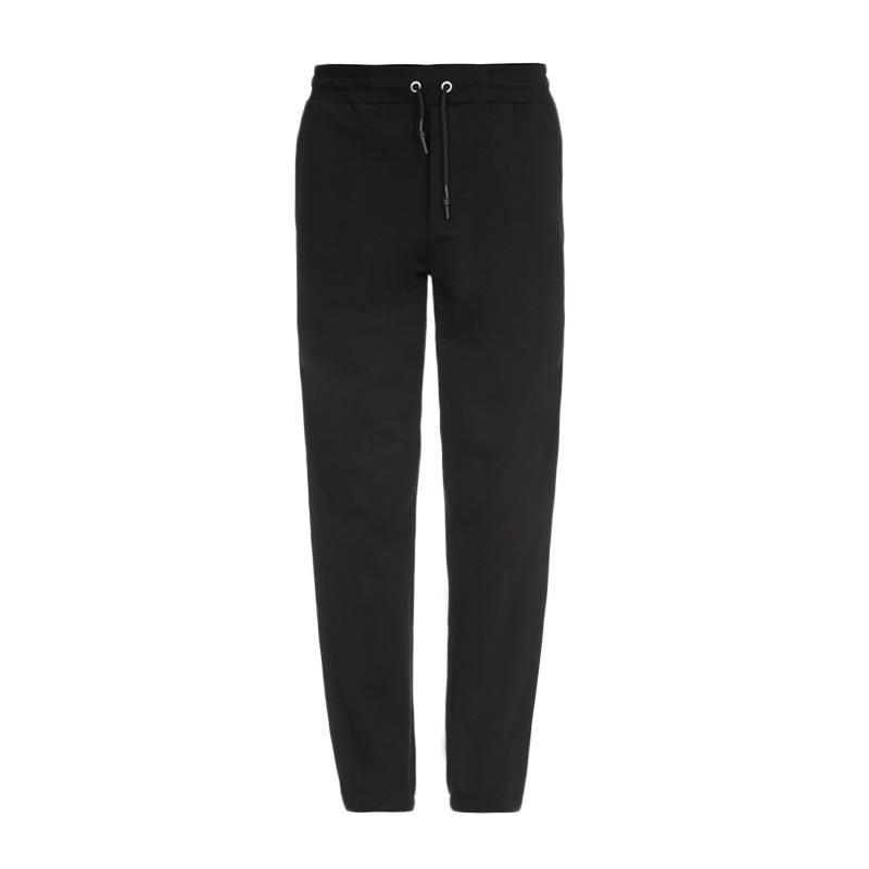 QH McQ 男士黑色棉质运动裤
